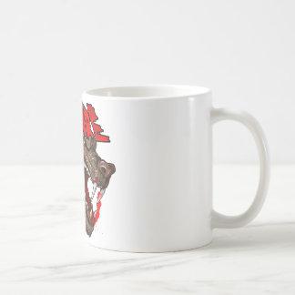 Beware The Wolf Classic White Coffee Mug