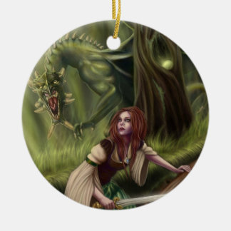 Beware the Woods Ornament