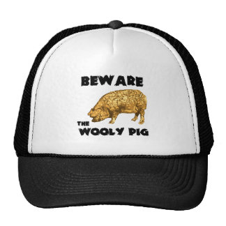 Beware the Wooly Pig Hat