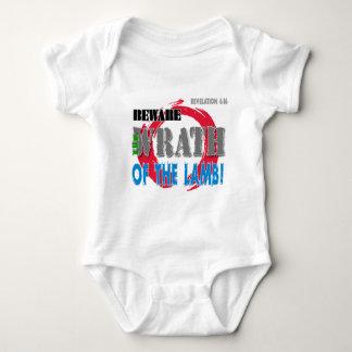 Beware the Wrath of the Lamb! Baby Bodysuit