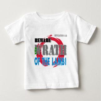 Beware the Wrath of the Lamb! Baby T-Shirt