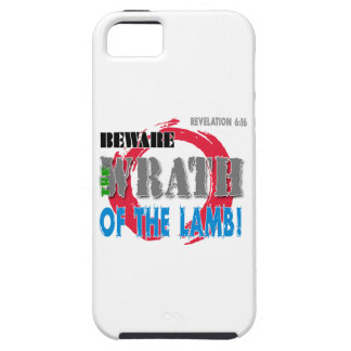 Beware the Wrath of the Lamb! iPhone 5 Case