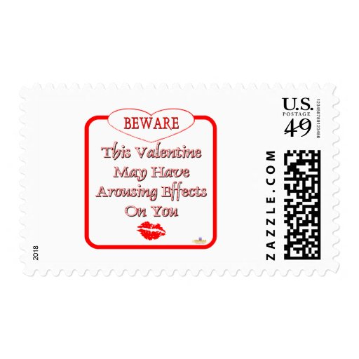 Beware This Valentine May Have Arousing Effects Re Stamps