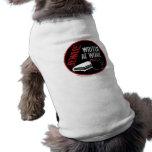 Beware: Writer at Work Doggie T Shirt