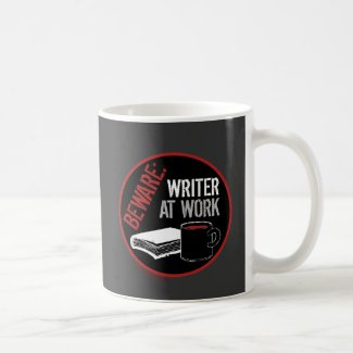 Writer At Work - Available at Zazzle