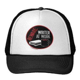 Beware: Writer at Work Trucker Hat