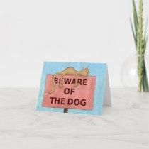 BewareOfTheDog_large Card