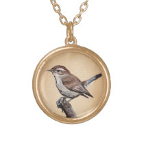 Bewick's Wren Necklace