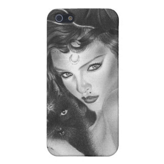 Bewitched black kitty Speck Case