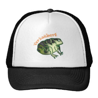 bewitched toad trucker hats