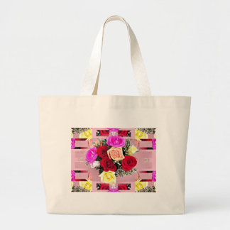 Bewitching Bouquet Jumbo Tote Bag
