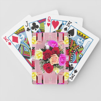 Bewitching Bouquet Bicycle Playing Cards