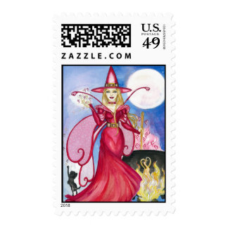 Bewitching Fairy Postage Stamp