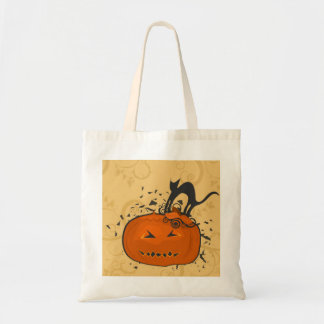 Bewitching Halloween Budget Tote Bag