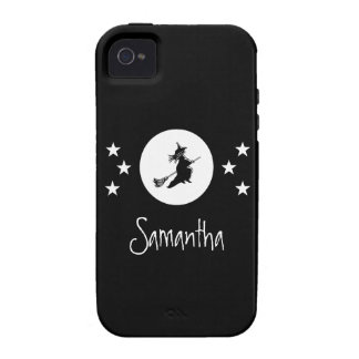 Bewitching Halloween iPhone 4 Vibe Case Black Vibe iPhone 4 Cases