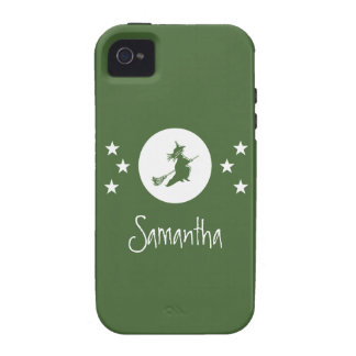 Bewitching Halloween iPhone 4 Vibe Case Green Case-Mate iPhone 4 Case
