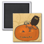 Bewitching Halloween Magnets