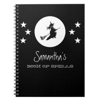 Bewitching Halloween Notebook Black