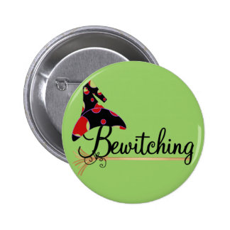 Bewitching Halloween Tshirts and Gifts Buttons