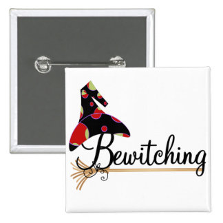 Bewitching Halloween Tshirts and Gifts Button