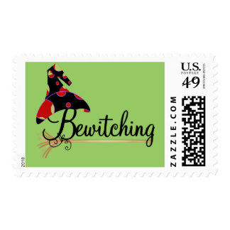 Bewitching Halloween Tshirts and Gifts Stamp