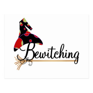 Bewitching Halloween Tshirts and Gifts Postcards