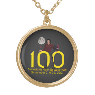 Bewitching Hour 100 Gold Plated Necklace