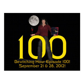 Bewitching Hour 100 Postcard