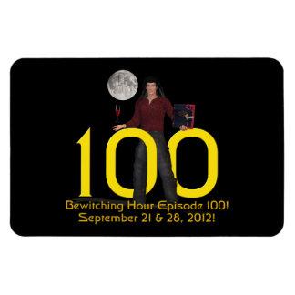 Bewitching Hour 100 Rectangular Photo Magnet