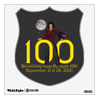 Bewitching Hour 100 Wall Decal
