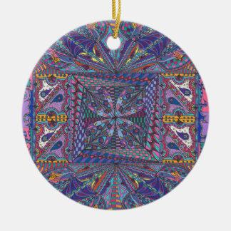 Bewitching Hour Design Ceramic Ornament
