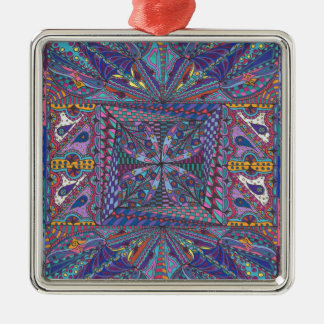 Bewitching Hour Design Metal Ornament