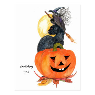 Bewitching Hour Postcard