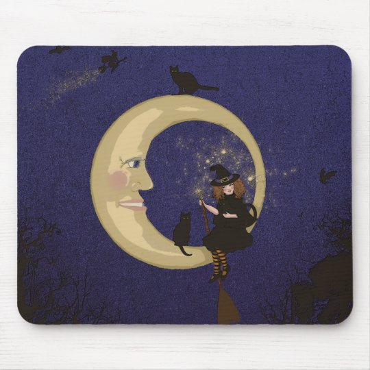Bewitching! Mouse Pad