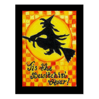 Bewitching Witch Post Card