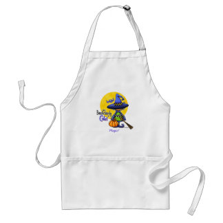 Bewitchingly Cute Witch Adult Apron