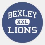 Bexley - Lions - Bexley High School - Bexley Ohio Classic Round Sticker