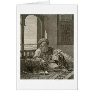 Bey de Mourad de los trajes del volumen II y de l Tarjeton