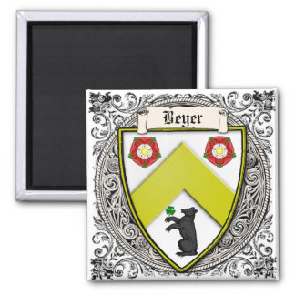 Beyer (Switzerland/Saxony) family arms Magnets