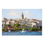 Beyoglu District and Galata Tower in Istanbul Photograph
