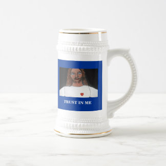 BEYOND A SHADOW OF A DOUBT BEER STEIN
