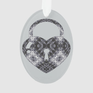 Beyond Beauty Heart Lock Kaleidoscope Cutout Ornament