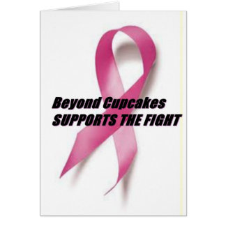 Beyond Cupcakes JOINS THE FIGHT Card