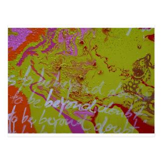 """Beyond Doubt"" Postcard"