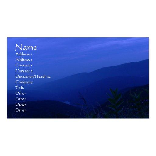 Beyond Dusk Profile Card Business Card