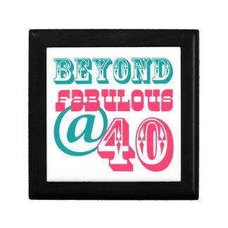 Beyond Fabulous 40th Birthday Gift Box
