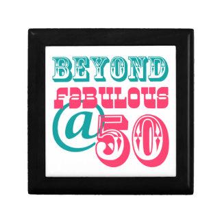 Beyond Fabulous 50th Birthday Gift Box