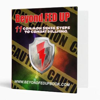 Beyond Fed Up Warrior Binder