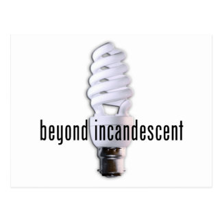 beyond incandescent postcard
