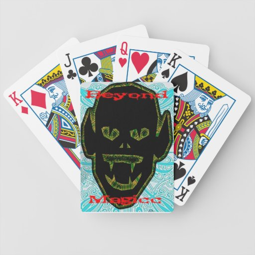Beyond Magicc personal cards Bicycle Poker Cards